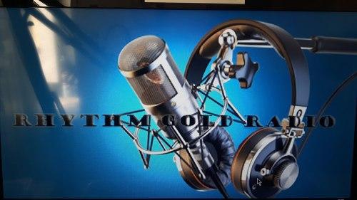 RHYTHM GOLD RADIO - LOGO