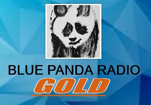 BLUE PANDA RADIO GOLD - LOGO